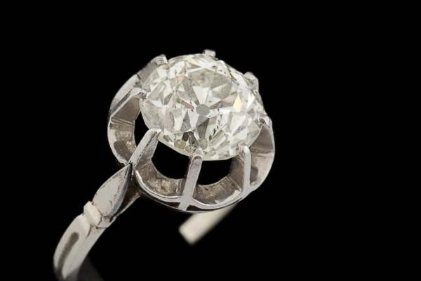 Bague Diamant Solitaire 3,3 crts