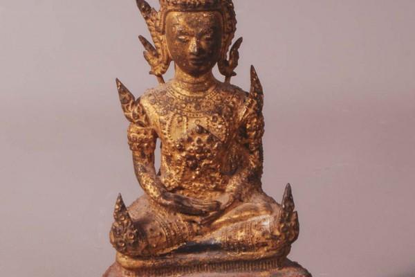 Bouddha en bronzeThaïlande - XIXème siècle