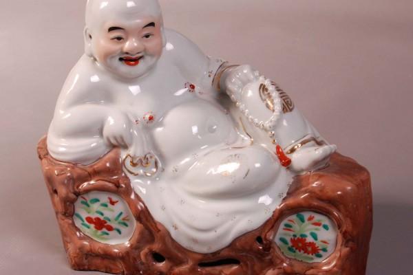 Bouddha porcelaine Chine   Période République