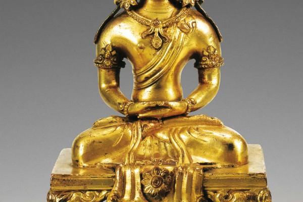 Bronze Doré Amitayus Qianlong