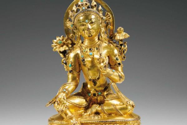 Bronze Doré Tibet