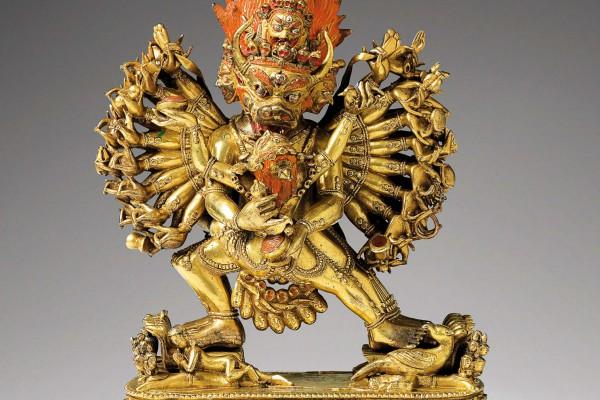 Bronze doré  Sino-Tibétain  XVIIIème siècle