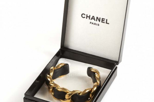Chanel  Bracelet chainé
