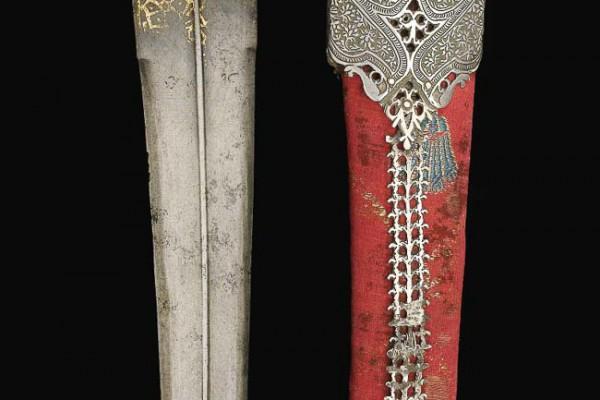 Dague en Jade Inde XVème siècle