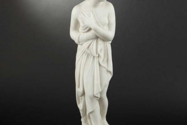 D'après Canova Baigneuse en marbre