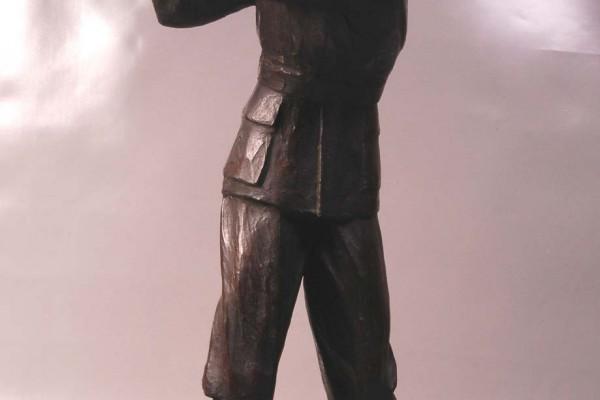 Giraud-Rivière   Golfeur en bronze