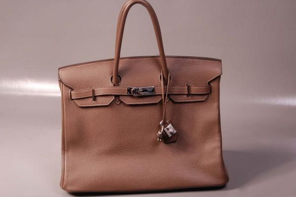 Hermès  Sac BIRKIN Etoupe