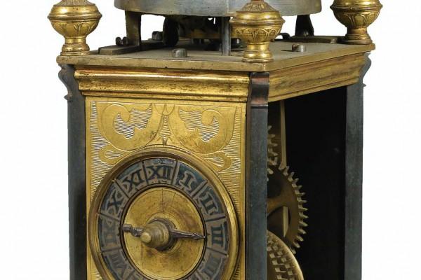 Horloge de table Italie XVIIème siècle