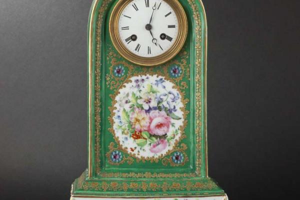 Pendule borne Jacob Petit Epoque XIXème siècle