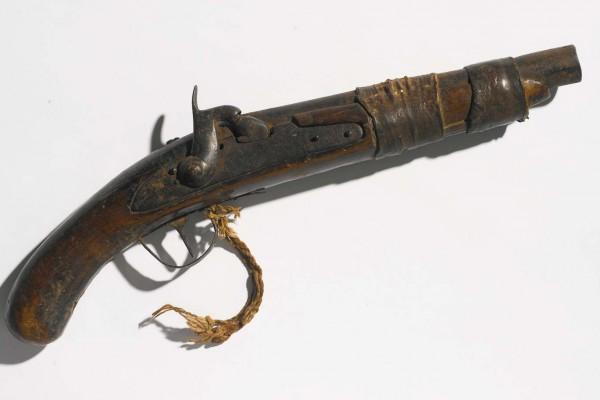 Pistolet ancien Mali