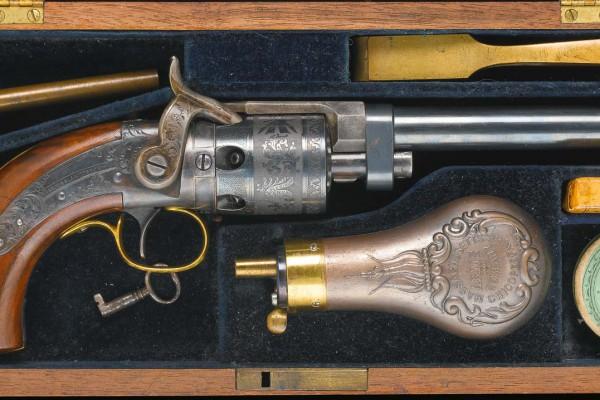 Revolver XIXème siècle