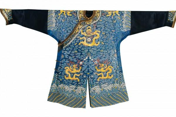 Robe en gaze Chine Dynastie Qing 2