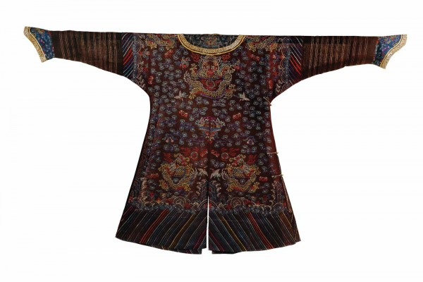 Robe en gaze Chine Dynastie Qing