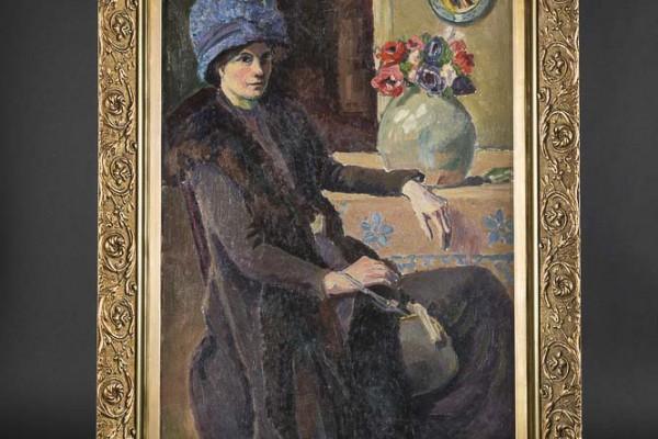 Rodo-Pissaro Femme en manteau
