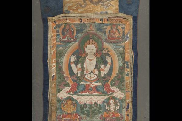 Tangka  Tibet XIXème siècle