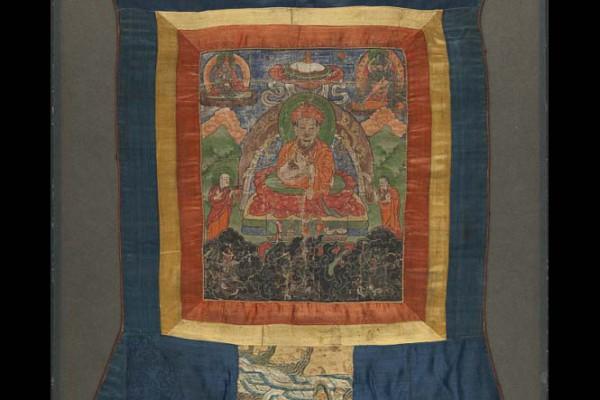 Tangka  Tibet    XIX-XX ème siècle