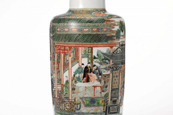 Vase Chine Epoque Kangxi