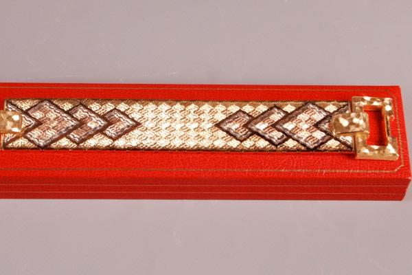 Bracelet ceinture    trois or