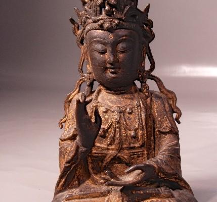 Bronze doré   CHINE     Dynastie Ming