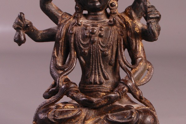 Bronze laqué  CHINE  Dynastie Ming