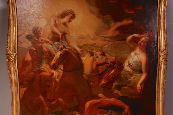 D'après JOUVENET  Allégorie Epoque XVIII° siècle