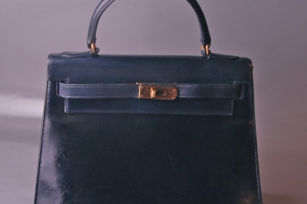 HERMES-PARIS sac Kelly cuir box  28 cm
