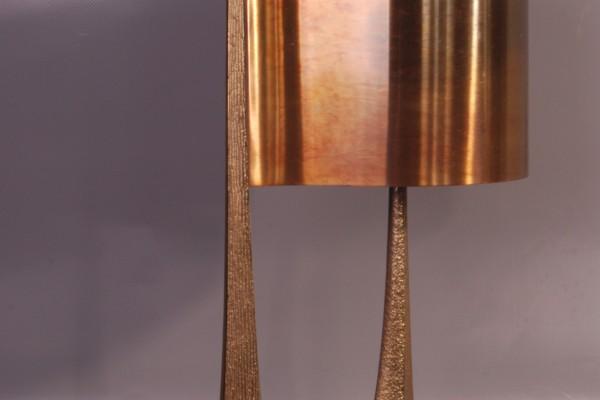 Maison CHARLES PARIS    Lampe en bronze