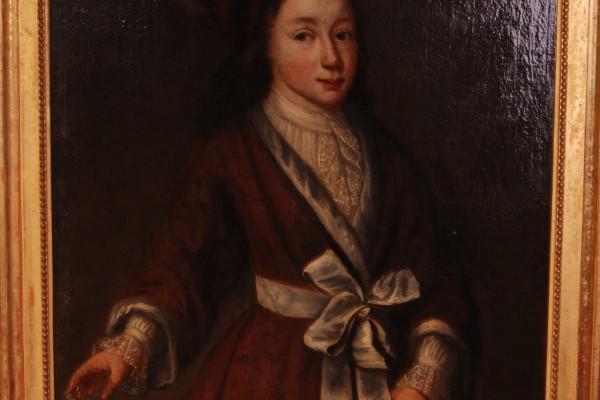 Portait d'homme de qualité    Epoque XVIII° siècle