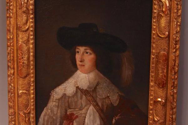 Portrait d'un jeune garçon Epoque XVIII° siècle