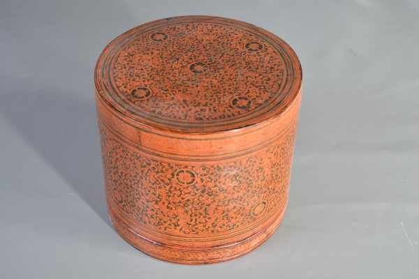 Boîte à bétel Birmanie      XX ° siècle