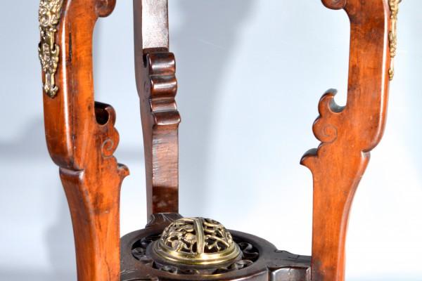 Scelette en bois ciré  Attribué à Gabriel VIARDOT