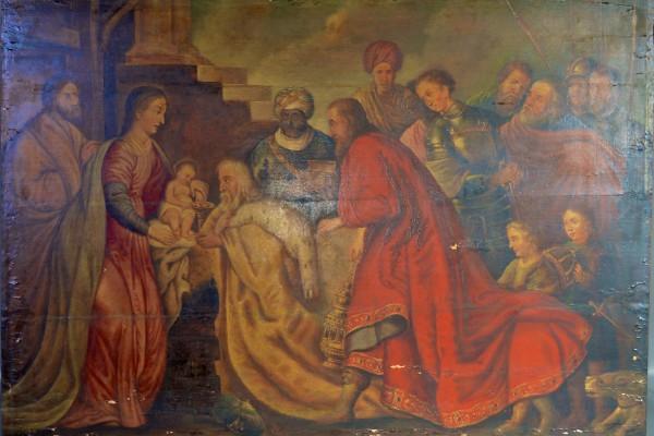 Présentation aux rois mages       XVII° siècle