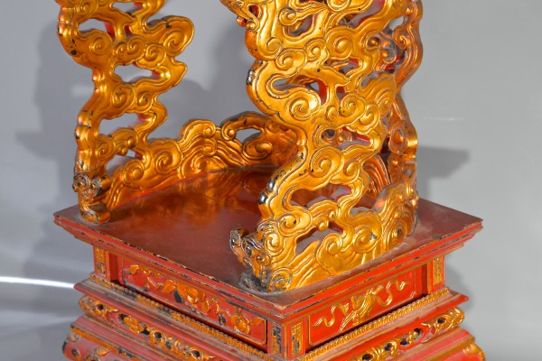 Trône de Génie Vietnam          Bois laqué et doré   Vietnam        époque Nguyēn  XIX° siècle