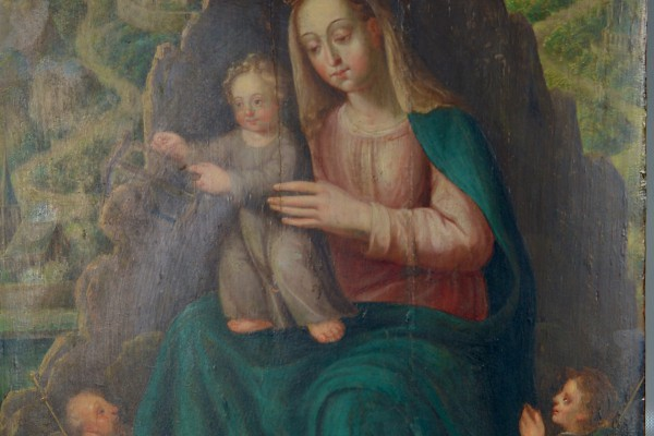 Vierge à l'enfant XVII° siècle