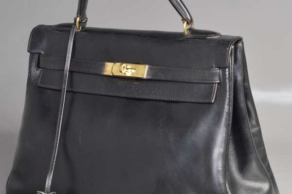 HERMES  Kelly Box Noir