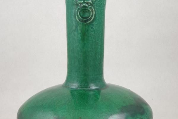 Vase Ming en terre vernissée